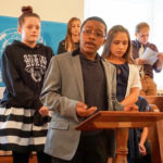 Friends School models international diplomacy at UN Day
