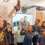 Nature Blog: Snakes at Friends School!  Watch Out!